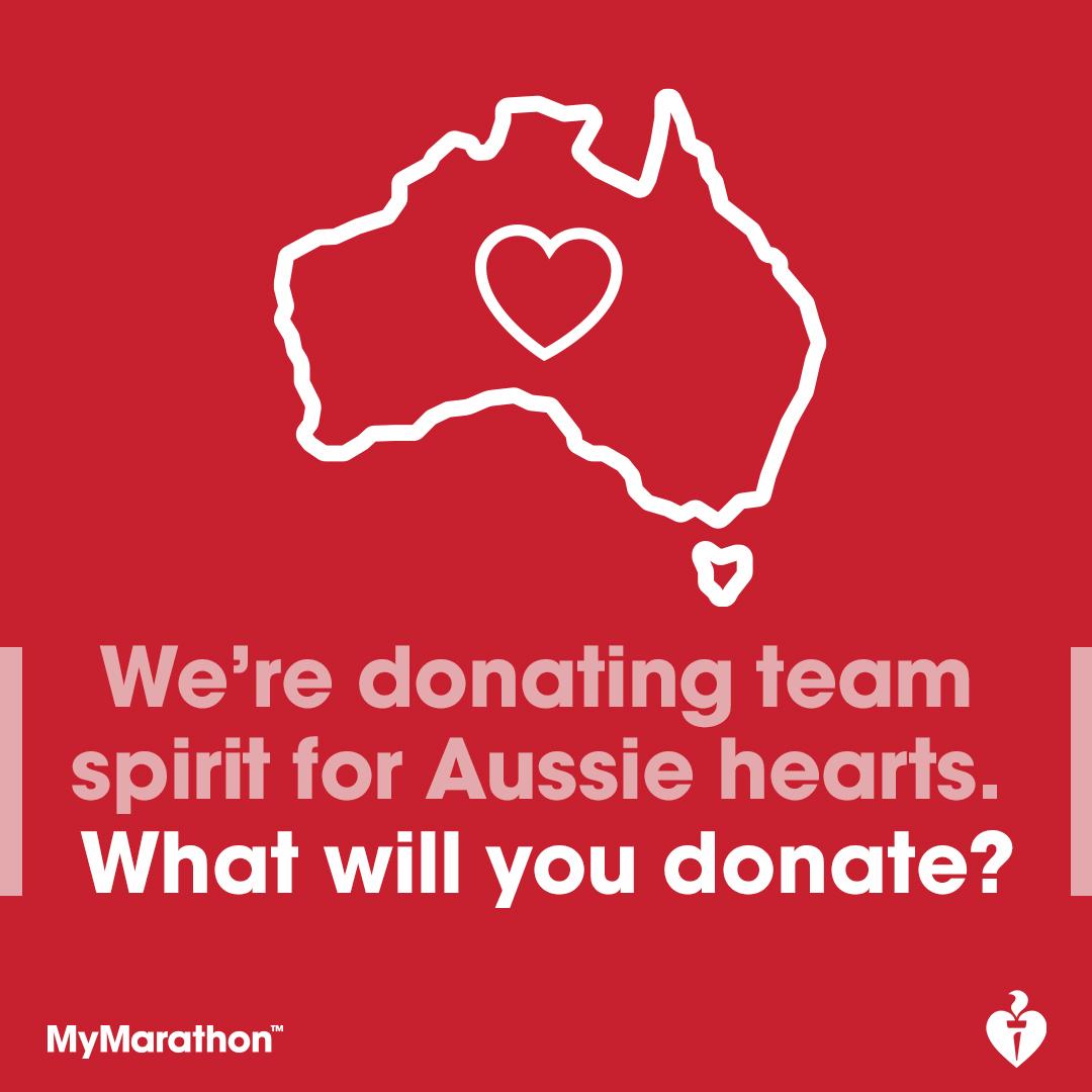 Social Post - I'm donating team spirit